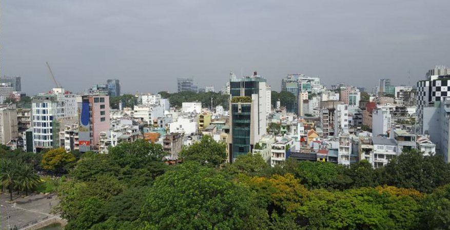 Aussicht auf Ho Chi Minh City
