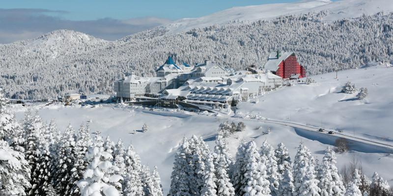 Skigebiet Türkei