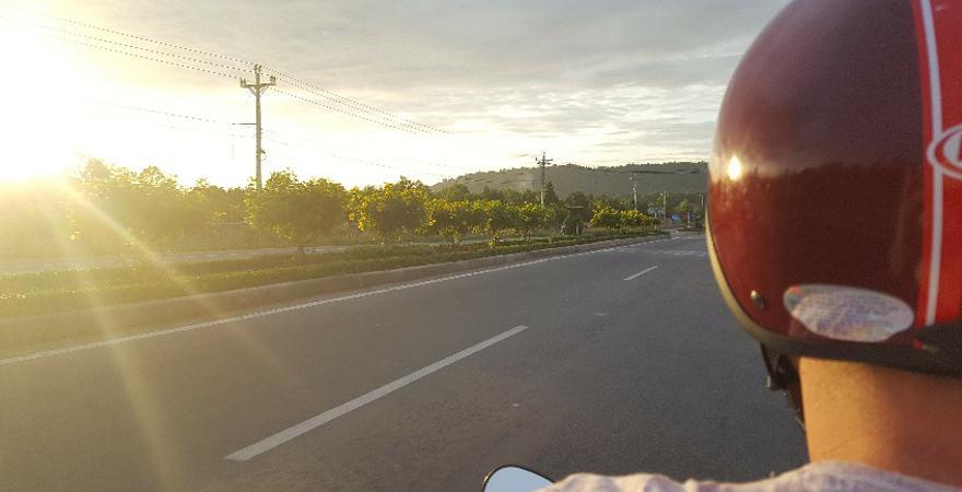 Ausflug mit dem Roller in Vietnam