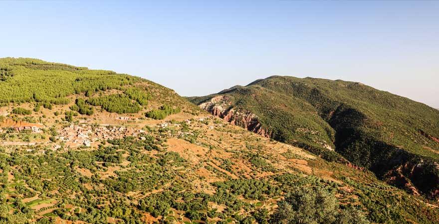 hohes Atlasgebirge, marokko