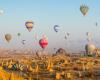 Heißluftballons in Kappadokien