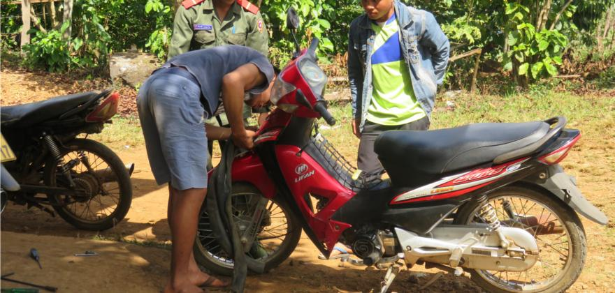 Motorradtour Laos