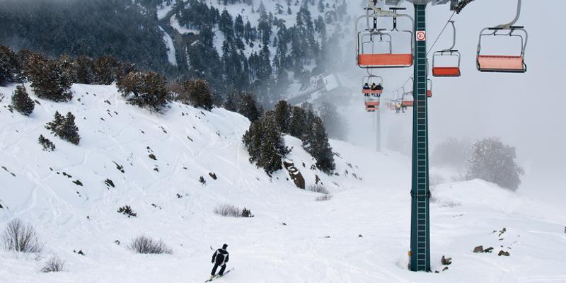skifahren auf Zypern