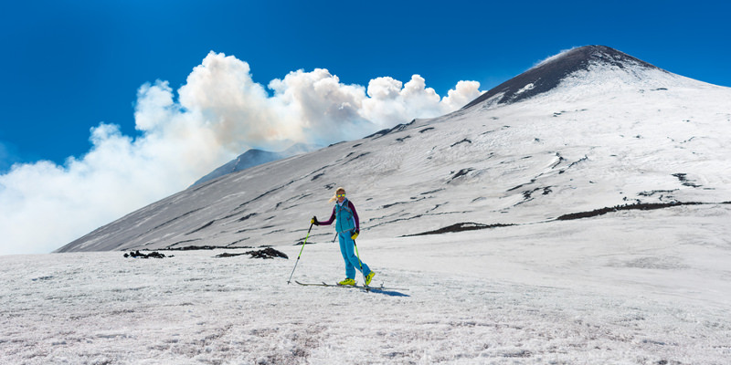 Skigebiet auf Sizilien