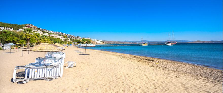 Strand in Bodrum