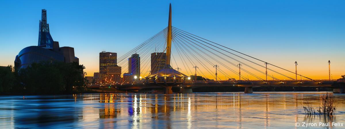 Winnipeg Skyline Kanada