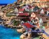 Popey village auf malta