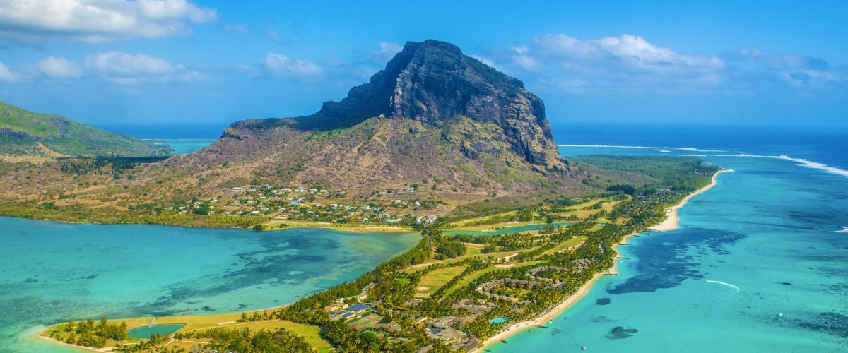 Schöne Natur auf Mauritius