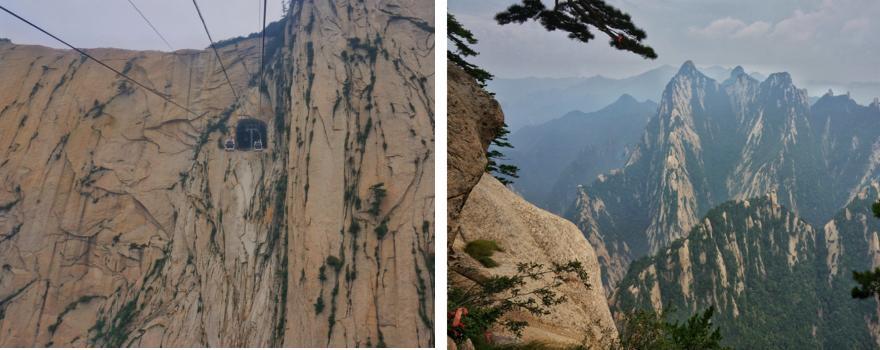 Huan Shan Gebirge