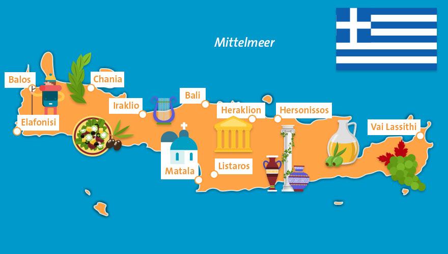 Karte Griechenland Deutsch.Reisetipps Fur Griechenland Kreta Athen Und Meer