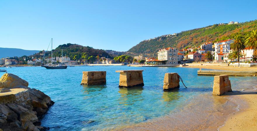 Strand von Meljine, Herceg Novi