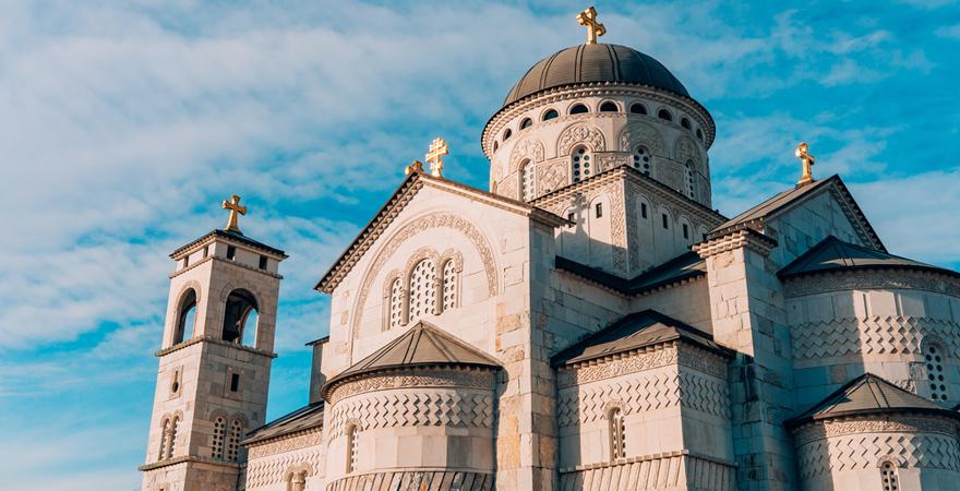 Orthodoxe Auferstehungskirche Hram Hristovog Vaskrsenja