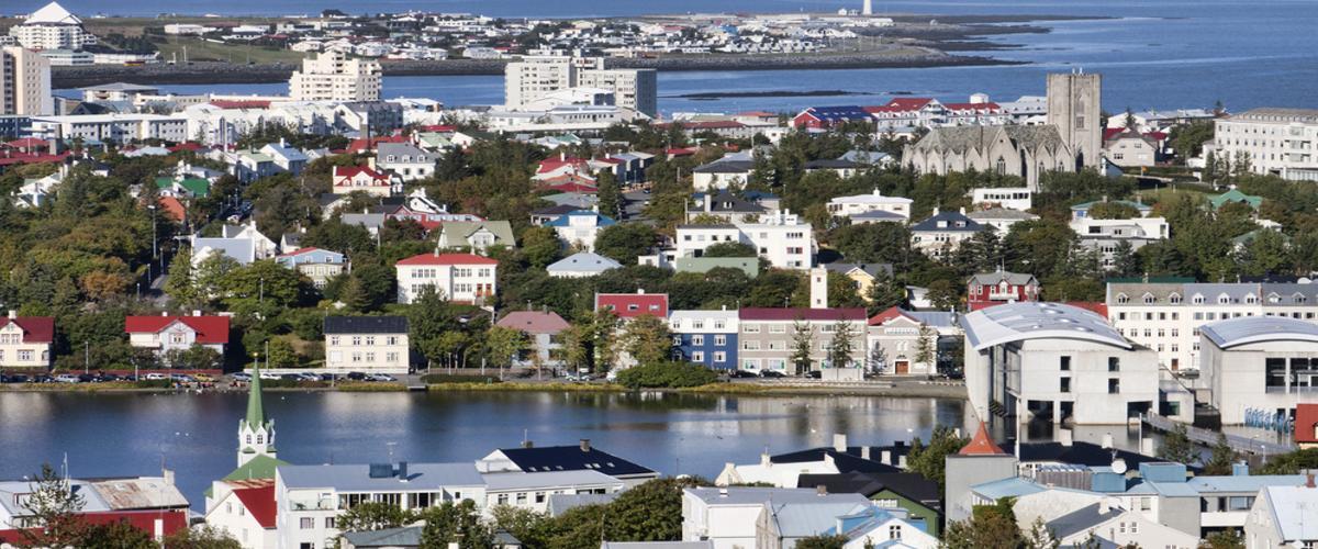 Hauptsadt Island Reykjavic