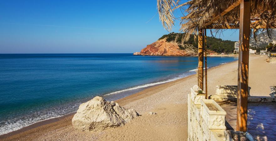 Strand von Sutomore