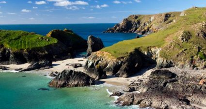 Cornwall's raue Küsten mit atemberaubenden Stränden