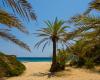 Via Beach auf Kreta