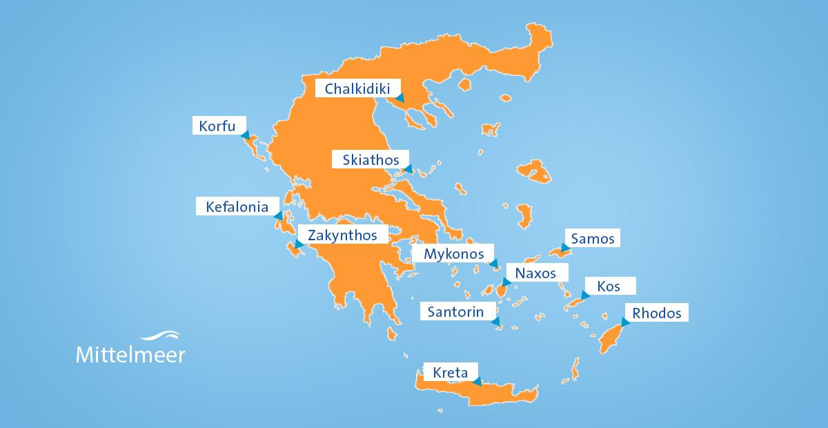 Karte Rhodos Urlaub.Reisetipps Für Griechenland Kreta Athen Und Meer Erkunden Fti