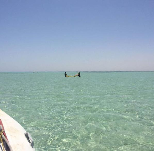Kite-Spot in El Gouna