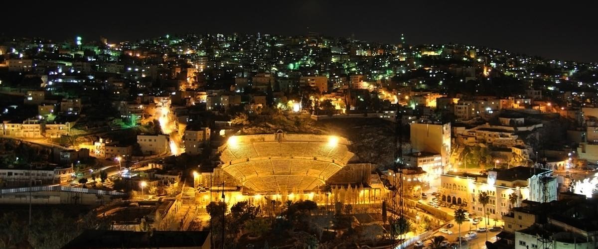 Jordaniens Hauptstadt Amman