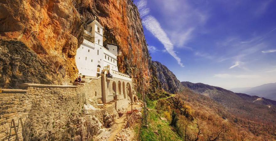 Das Kloster Ostrog