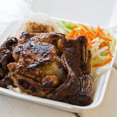 Plate Lunch ist ein beliebtes Gericht auf Hawaii