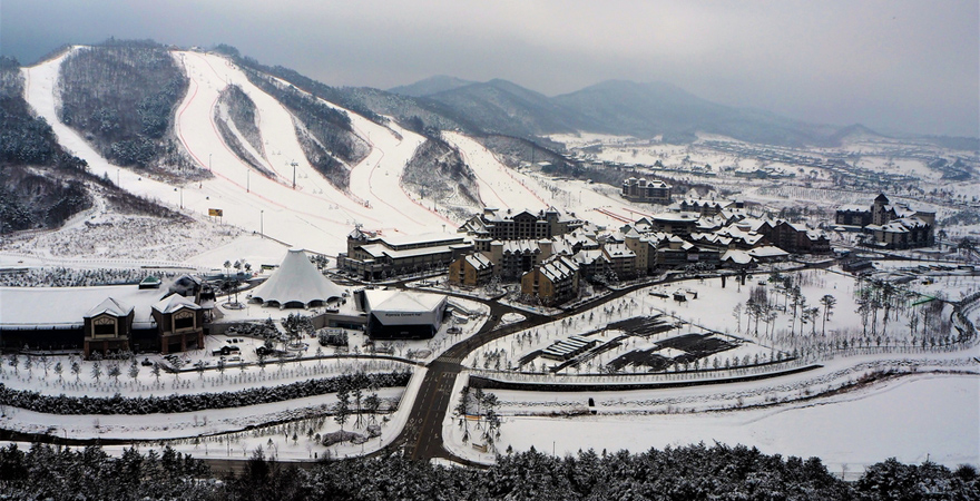 Pyeongchang Skisprung-Zentrum