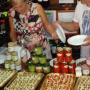 In Tropea gibt es viele Zwiebel Geschäfte