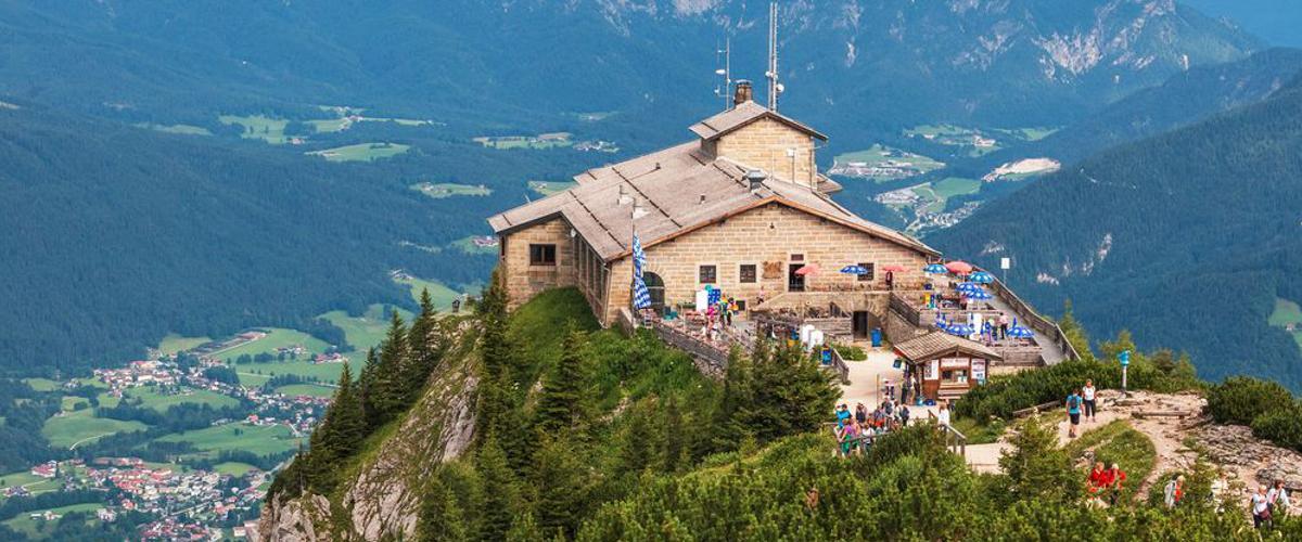 Ausblick Berchtesgarden Hütte