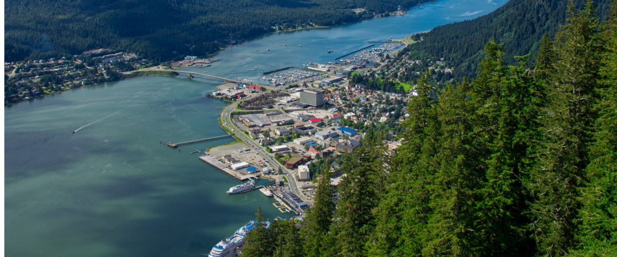 Hauptstadt Juneau Alaska