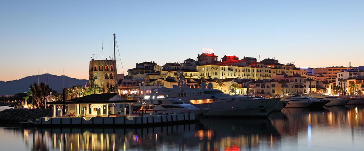 Marbella Hafen