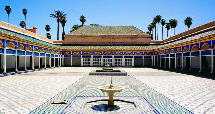 Bahia Palast in Marrakesch