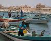 Fischerdorf im Oman