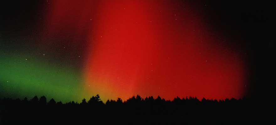 Polarlichter über Deutschland, Bayreuth