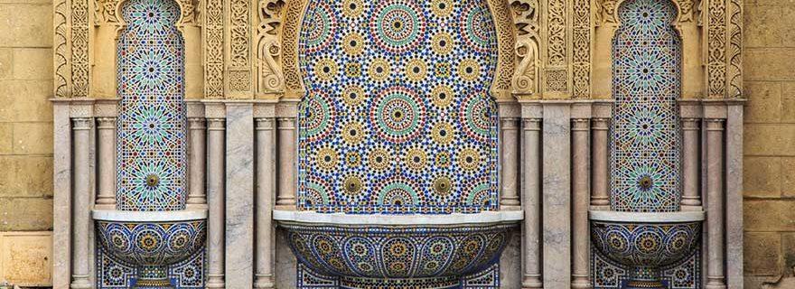 typische Ornamente und Muster Marokko
