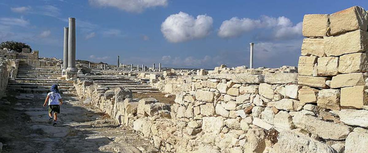 Kourion in Zypern
