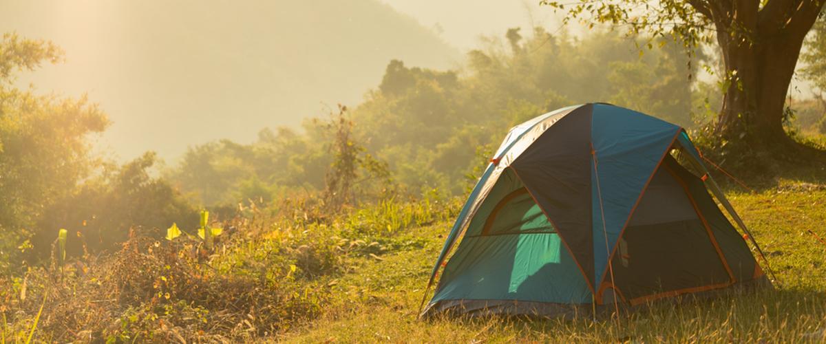 Ein gutes Zelt ist wichtig