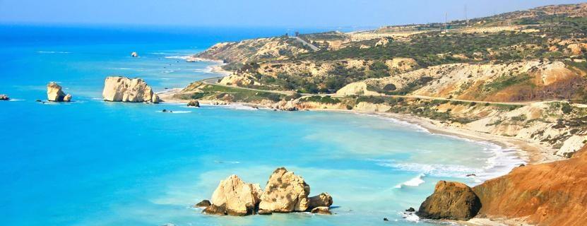 Zypern Strand mit Kindern