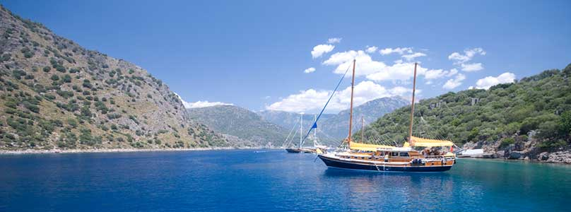 blaue Reise Türkei