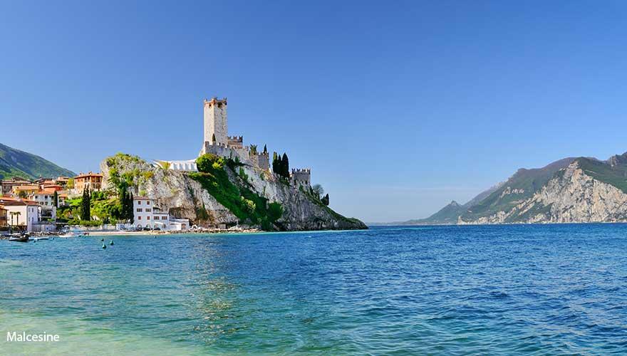 Burg auf Malcesine