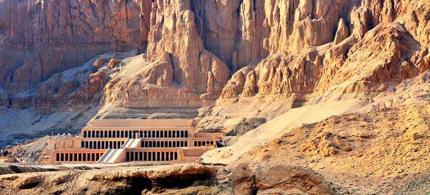 Hatschepsut Tempel beim Tal der Könige