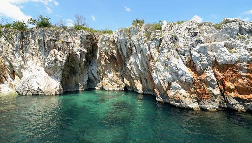 Rabac in Kroatien
