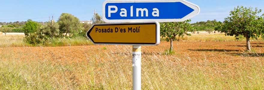 Straßenverkehr auf Mallorca