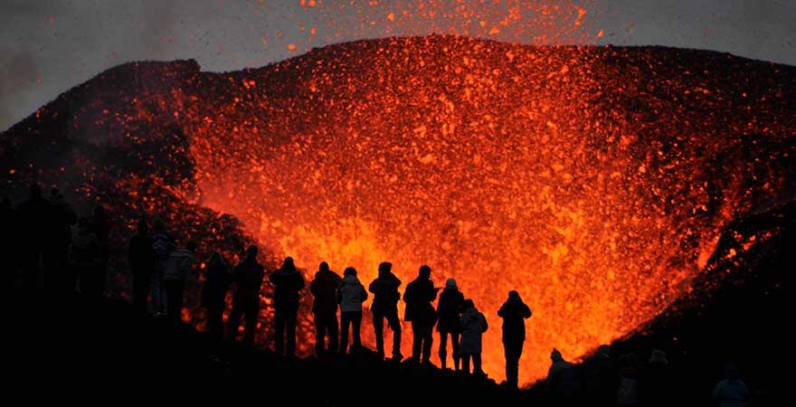 Eyjafjallajökull in Island
