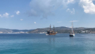 Schiffe Blaue Reise