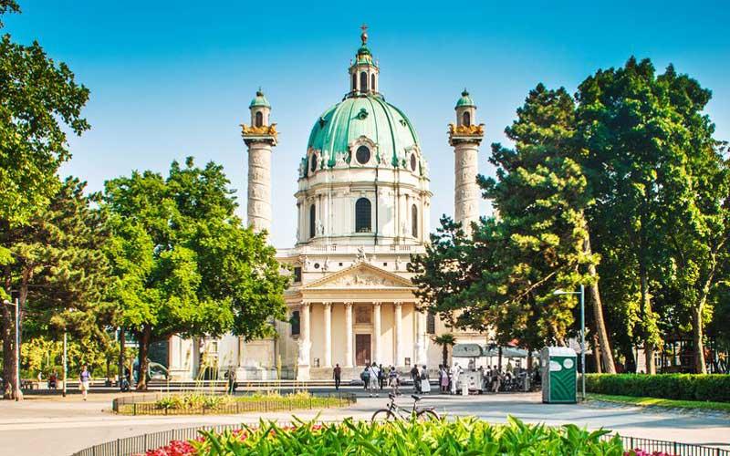 karlskirche in Wien