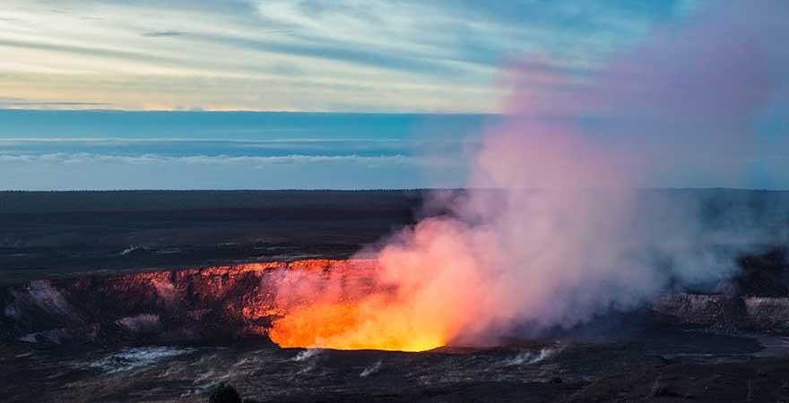 Kilauea auf Hawaii