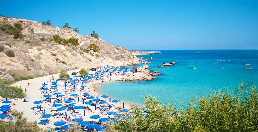 Konnos Bay Zypern