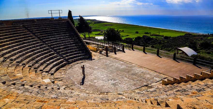 Kourion auf Zypern