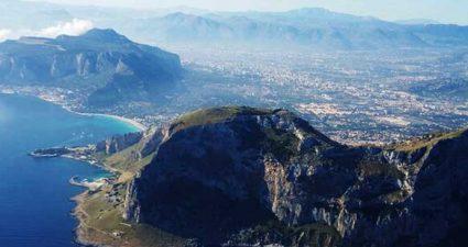 Anflug auf Palermo