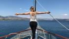 Titanic Pose auf dem Boot